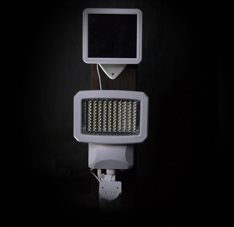 Classy Caps Motion Sensor Solar Security Light With Solar Panel