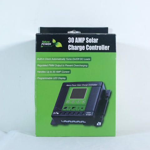 Nature Power Solar Power Kit 440 Watts - 30 amp Solar Charge Controller in Box