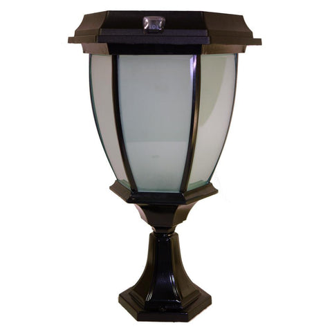 Mountable Flickering Flame Solar Coach Lamp Light - Solar Us Shop
