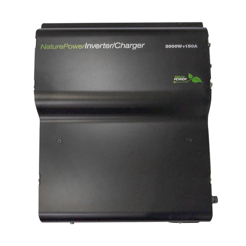 Top View of the NaturePower Inverter/Charger 3000 Watt 150 Amp
