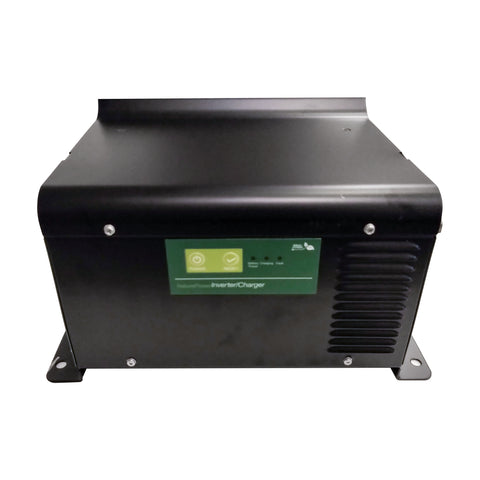 Nature Power 3000 Watt 150 Amp Charger and Inverter From the Front