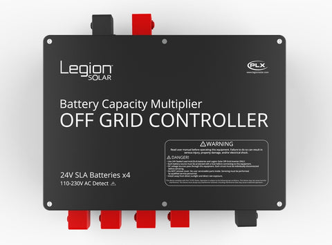 Legion Solar Off Grid Controller Front View