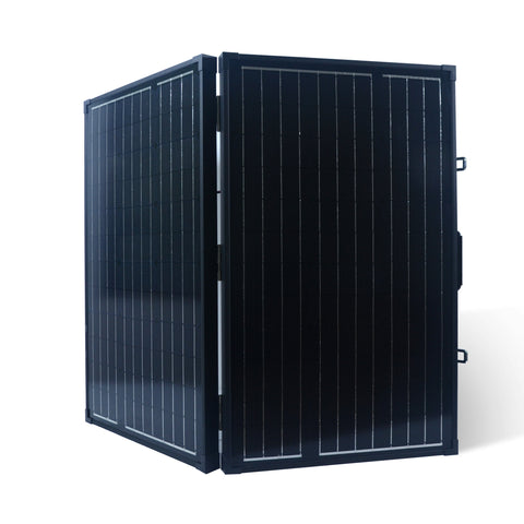 Nature Power 120 Watt Monocrystalline Suitcase Solar Panel Folded