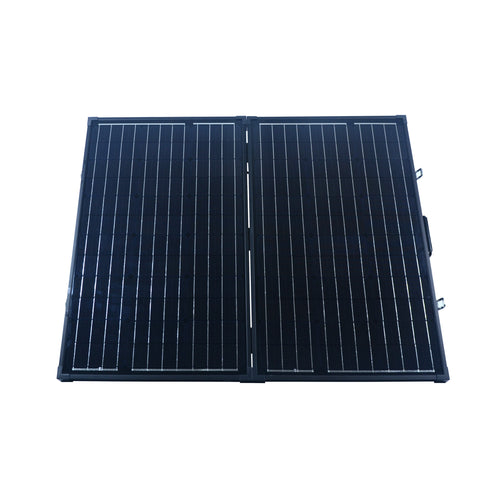 Nature Power 120 Watt Monocrystalline Suitcase Solar Panel front