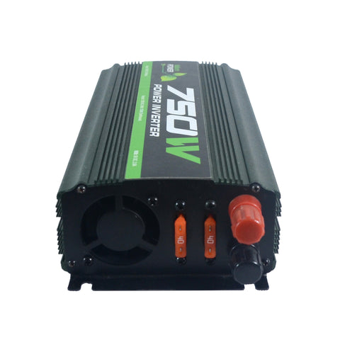 Nature Power 12V 750W Portable Power side view DC input