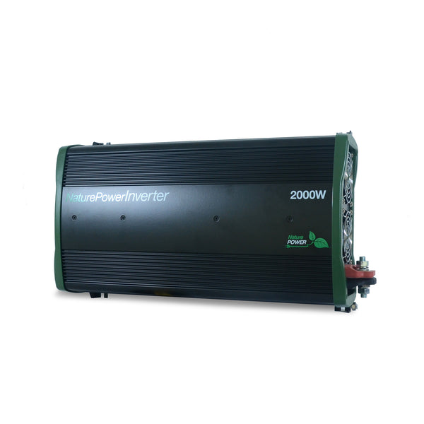 Nature Power 12 Volt, 2000 Watt Pure Sinewave Solar Power Inverter Front