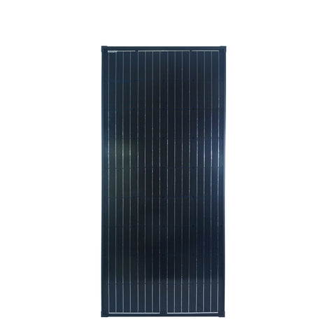 Nature Power 165 Watt Monocrystalline Solar Panel for 12 Volt Systems front