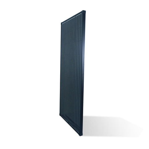 Nature Power 165 Watt Monocrystalline Solar Panel for 12 Volt Systems front angle