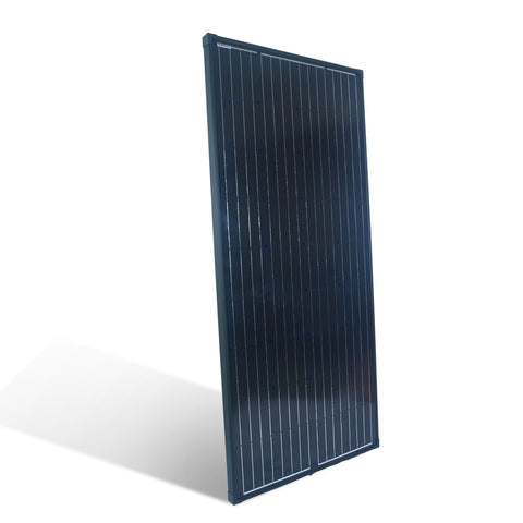 Nature Power 165 Watt Monocrystalline Solar Panel for 12 Volt Systems side angle 2