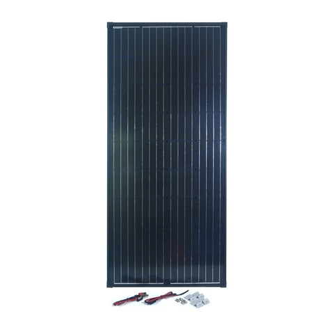 Nature Power 165 Watt Monocrystalline Solar Panel for 12 Volt Systems with accessories
