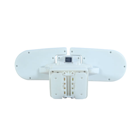 Nature Power 205 Integrated LED Triple Head Lights Outdoor Motion Activated Back View