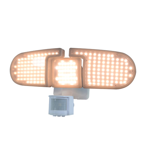 Nature Power 205 Integrated LED Triple Head Lights with Bright Warm Lights On
