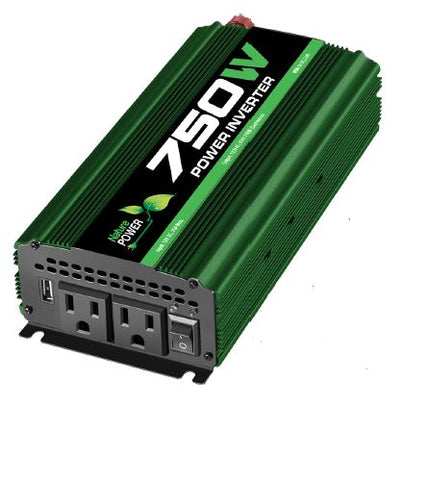 Nature Power 12V 750W Portable Power Inverter