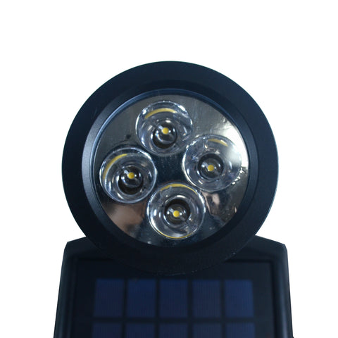 Nature Power 4-LED Solar Flag Pole Led Lights