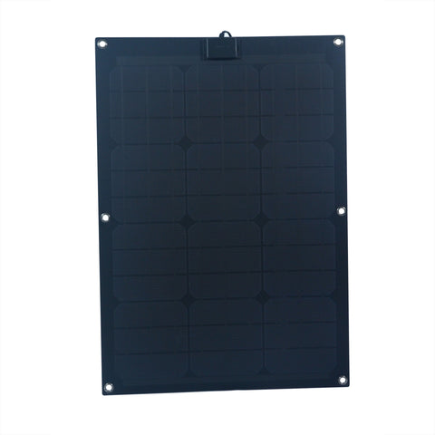 Nature Power 50-Watt Semi Flex Mono crystalline Solar Panel front