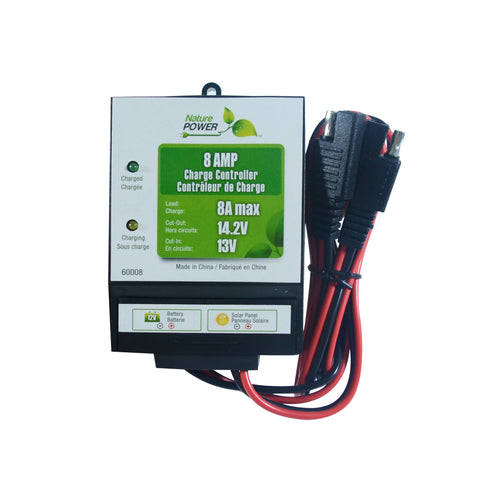Nature Power 72 W Complete Solar Kit 8am Charge Controller