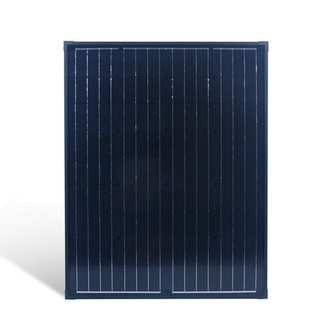 Nature Power 90W Monocrystalline Solar Panel front view