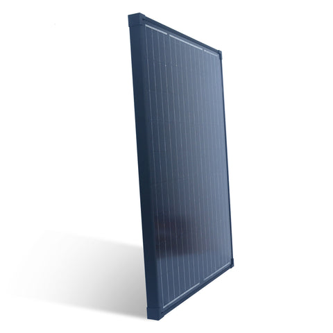Nature Power 90W Monocrystalline Solar Panel side angled view