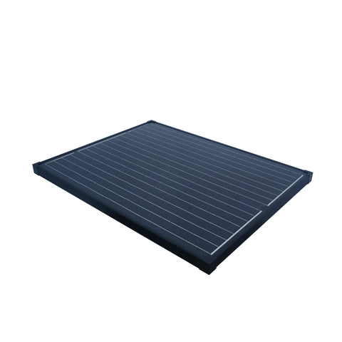 Nature Power 90W Monocrystalline Solar Panel top with antireflective coating