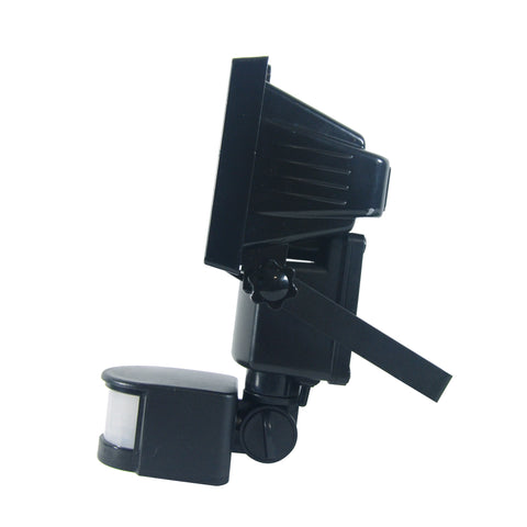Nature Power COB Motion Activated Solar Security Light Side View