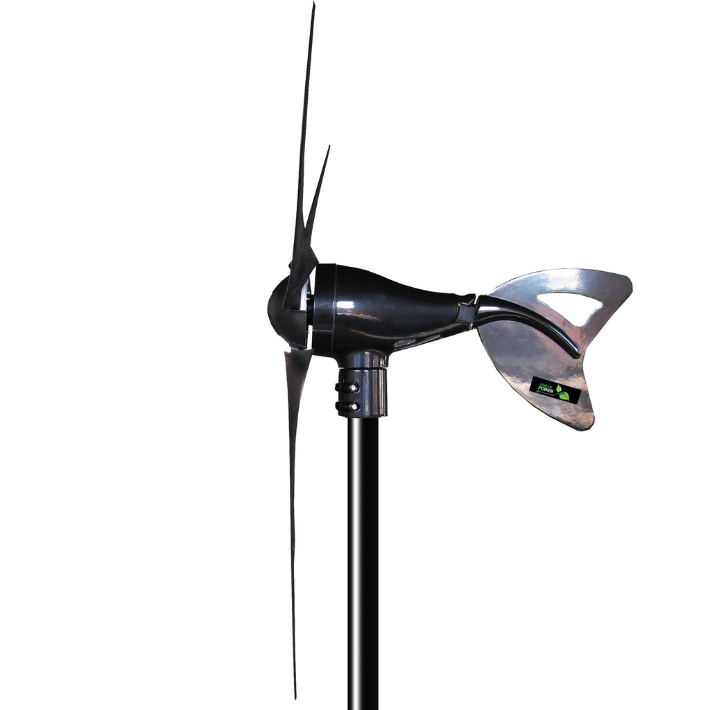 400 W 3 Blades Wind Turbine Power Generator Home Back-Up Electric Energy Source