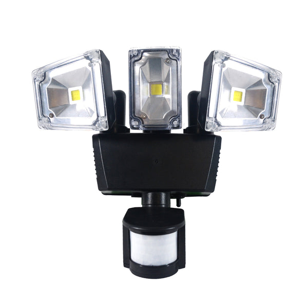 Nature Power Triple COB LED Solar Powered Motion Lights alt