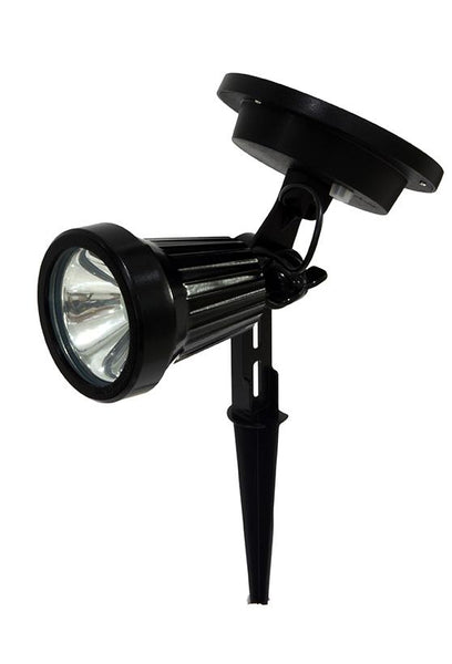 Black Solar Garden Spot light