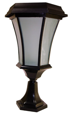LED Solar Coach Flickering Flame Lamp Light w/ 3 Mounting Features - Solar Us Shop