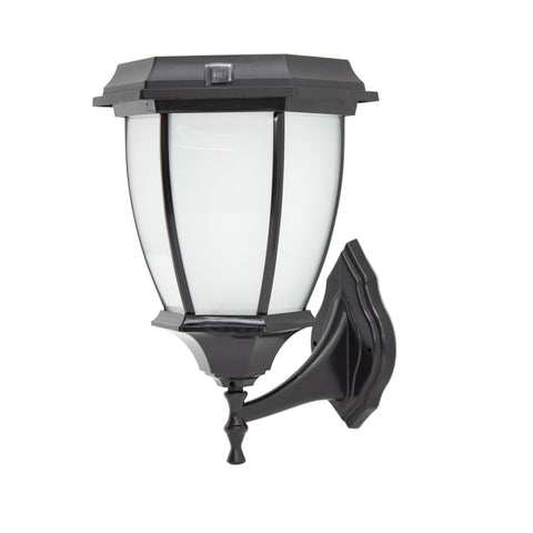 Solar Goes Green LED Solar Porch Lamp Wall Mount