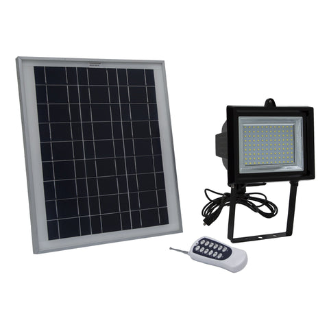 SGG-F108-3T - SMD LED Solar Flood Light With Remote Control and Timer - Solar Us Shop