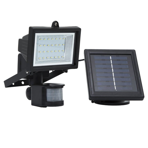 Solar Goes Green LED Solar Motion Sensor Security Flood Light