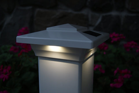 Windsor Solar Post Cap Lights