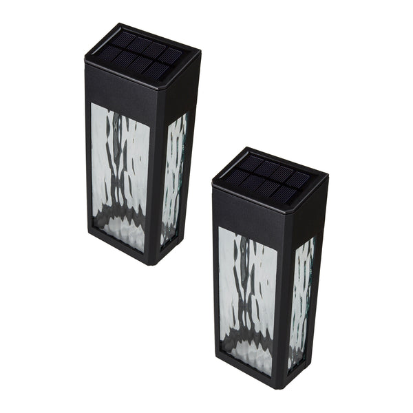 classy-caps-lancaster-black-aluminum-solar-powered-deck-light-2-pack