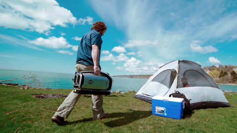 Zero Breeze Mark 2 Portable Air Conditioner portable for camping