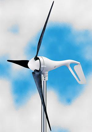 400W 12V 24V Wind Turbine Generator Primus Wind Power Air X Marine Windmill