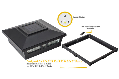 classy-caps-oxford-aluminum-6x6-solar-post-caps-2pack-black-accessories-adaptor