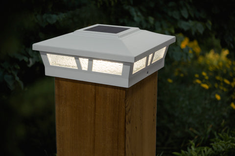 classy-caps-oxford-aluminum-6x6-solar-post-caps-2pack-white-on-wood-post