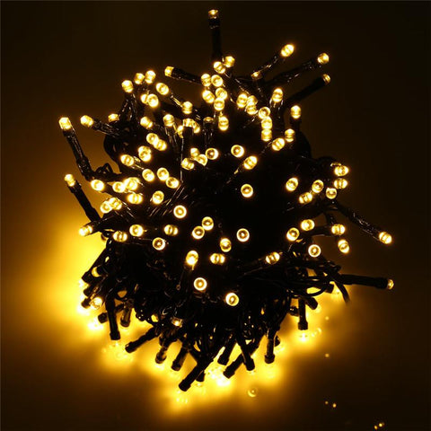 72 Ft Large Solar Solar String Lights 200 LED Available in Multiple Colors - Solar Us Shop