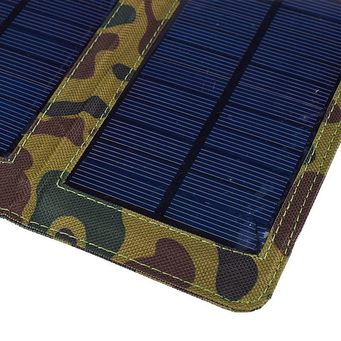 Corner Of Camouflage Solar Powered Charger
