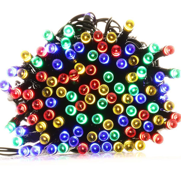 Multi color Solar Powered Christmas Lights