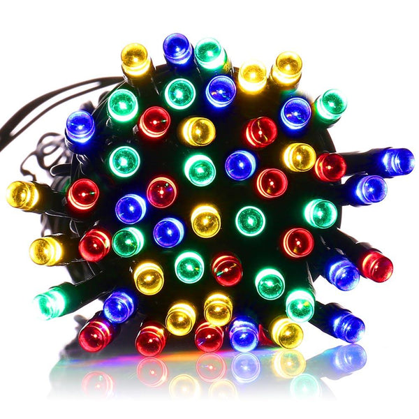 Solar Christmas Lights and Decorations in Multiple Colors