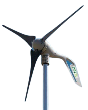Automatic Wind Turbine Generators and Wind Turbine Mount Kits for home, business, and marine use.