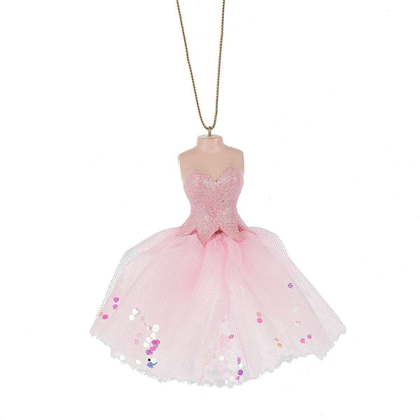 Ballet Pink Tulle Dance Dress Ornament by Midwest-CBK