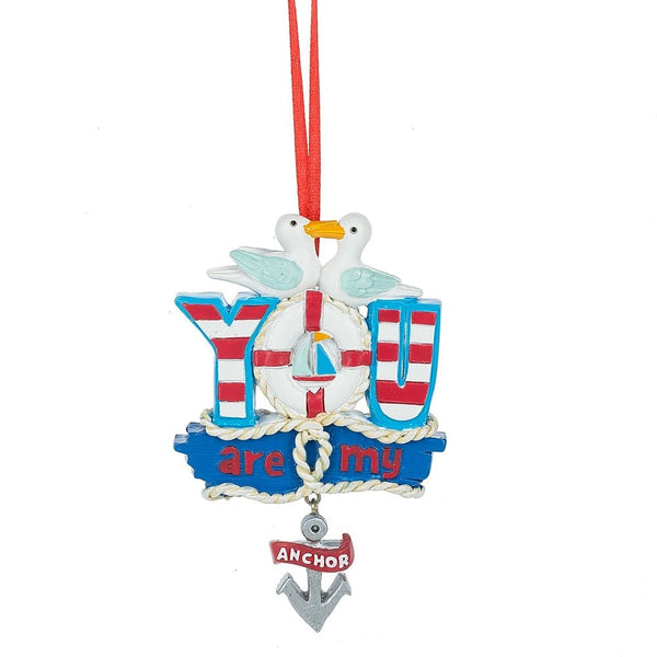 Nautical You Are my Anchor Ornament by Midwest-CBK
