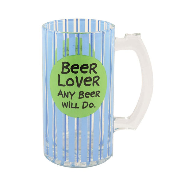 Our Name is Mud Glass Beer Lover Mug