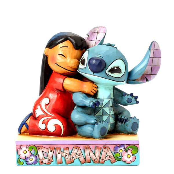 Disney Traditions Stitch Ohana Means Family Figurine by Jim Shore