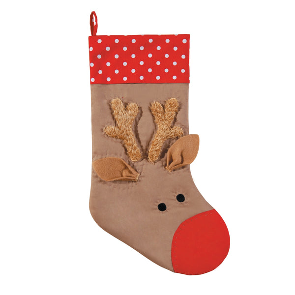 Reindeer Stocking by C&F Enterprises