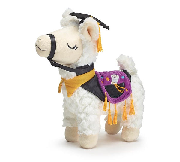 Graduation Llama Plush Gift for Graduate