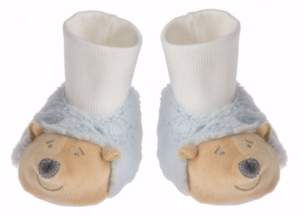 Baby Ganz Blue Hedgehog Slippers