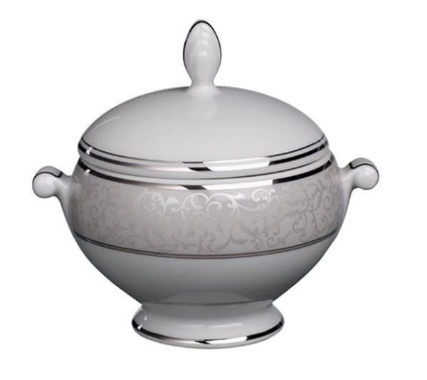 Mikasa Parchment Sugarbowl with Lid